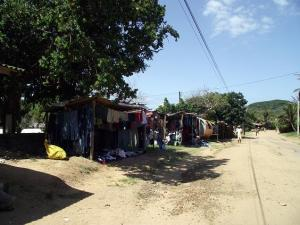 Informal traders eeking out an income for themselves
