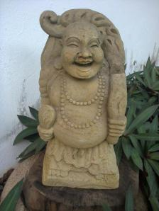 The laughing buddha of Ponta